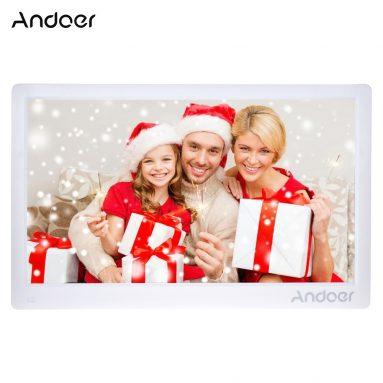 $ 16 OFF Andoer 17inch Khung ảnh kỹ thuật số, miễn phí vận chuyển $ 122.99 (Mã: DPFFV16) từ TOMTOP Technology Co., Ltd