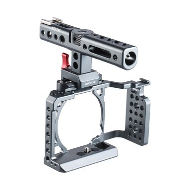 $10 OFF Video Camera Cage Rig with Top Handle Stabilizer,free shipping $89.99(code:WCCR5) from TOMTOP Technology Co., Ltd