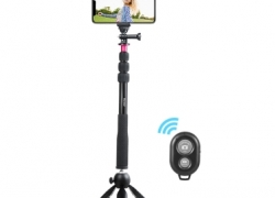 5$ OFF for Andoer Selfie Stick+Mini Tripod+Phone Tripod Mount+Wireless Remote Control! from Tomtop INT