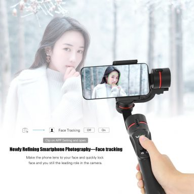 50% OFF Wewow A5 3-Axis Handheld Mobile PhoneStabilizer,limited offer $79.99 from TOMTOP Technology Co., Ltd