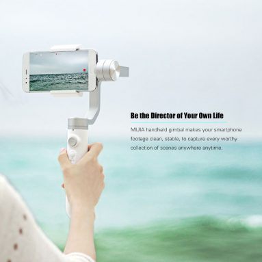 36% OFF Xiaomi MIJIA 3 Axis Handheld Gimbal,limited offer $108.89 from TOMTOP Technology Co., Ltd