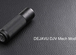 $49 with coupon for DEJAVU DJV Mech Mod – BLACK from Gearbest