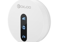€7 with coupon for DIGOO DG-SD10 Transmitter Self-powered Waterproof Doorbell EU/US/UK Plug Unique Sliding Button 58 Melodies 4 Levels Volume Adjustment Door Bell – EU plug from BANGGOOD