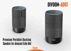 €48 with coupon for DIVOOM ADOT Speaker Charging Stand for 2nd Generation Amazon Echo Dot from GearBest