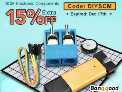 15% OFF for SCM Components & Programmer from BANGGOOD TECHNOLOGY CO., LIMITED