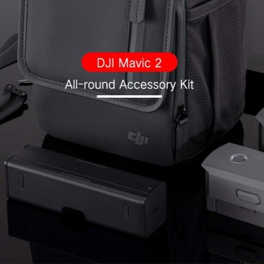 €284 with coupon for DJI All-round Accessory Kit – BLACK from GEARBEST