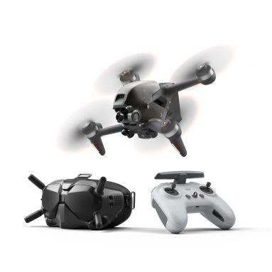 1038 € με κουπόνι για DJI FPV Combo 10KM 1080P FPV 4K 60fps Κάμερα 20 λεπτά Χρόνος πτήσης 140 km / h Ταχύτητα FPV Racing Drone RC Quadcopter FPV Goggles V2 5.8GHz Mode Transmitter2 from BANGGOOD