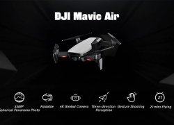 € 620 / € 770 (Fly More Combo) med kupon til DJI Mavic Air 4K Kamera 32MP Sphere Panoramier RC Sammenfoldelig Drone Quadcopter fra BANGGOOD