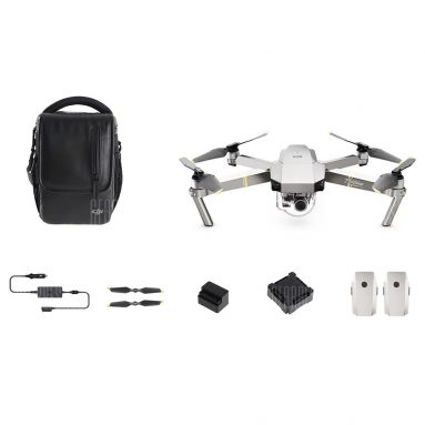 €935 with coupon for DJI Mavic Pro Platinum FPV With 3Axis Gimbal 4K Camera Noise Drop RC Drone Quadcopter – Mavic Pro Platinum Fly More Combo from BANGGOOD