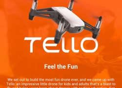 $86 with coupon for DJI Tello Drone BNF 5MP HD Camera 720P WiFi from BANGGOOD