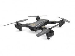 $38 with coupon for DM95 VISITOR Foldable WiFi FPV RC Drone – RTF  –  2MP CAMERA  BLACK from GearBest