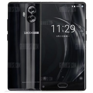 $89 with coupon for DOOGEE Mix Lite 4G Smartphone  –  BLACK from GearBest