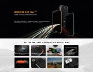 € 84 med kupong for DOOGEE S40 Pro Global versjon 5.45 tommer IP68 / IP69K vanntett NFC Android 10.0 4650mAh 13MP dobbelt bakkamera 4 GB 64 GB Helio A25 4G-smarttelefon fra BANGGOOD