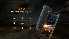 € 67 DOOGEE S40 5.5 इंच IP68 IP69K वाटरप्रूफ NFC Android 9.0 4650mAh 3GB 32GB MT6739 4G स्मार्टफोन के लिए कूपन BANGGOOD से