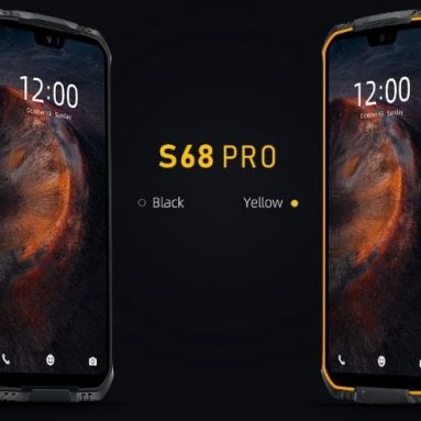 169 € med kupong för DOOGEE S68 Pro Global version 5.9 tum FHD + IP68 Waterdrop 6300mAh NFC 21MP Triple Rear-kameror 6 GB RAM 128 GB ROM Helio P70 Octa Core 2.0 GHz 4G Smartphone - Svart EU-version från EU ES BANGGOOD