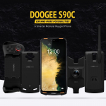 € 143 med kupong for DOOGEE S90C Global Bands IP68 Vanntett 6.18 tommer FHD + NFC 5050mAh 16MP + 8MP AI Dual Rear Camera 4GB 64GB Helio P70 4G Smartphone - Oransje EU-versjon fra EU CZ lager BANGGOOD