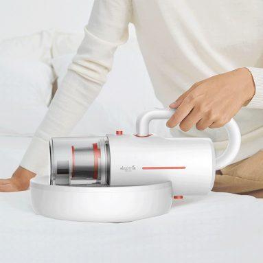€ 52 avec coupon pour Deerma CM1910 Aspirateur domestique sans fil anti-acariens Mini stérilisateur UV multifonction Nettoyant rechargeable de XIAOMI YOUPIN de l'entrepôt EU CZ BANGGOOD