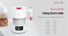 € 32 mit Gutschein für Deerma DEM-DH207 0.6L Tragbarer, zusammenklappbarer Reisewasserkocher Smart Touch Control Insulation Pot von BANGGOOD