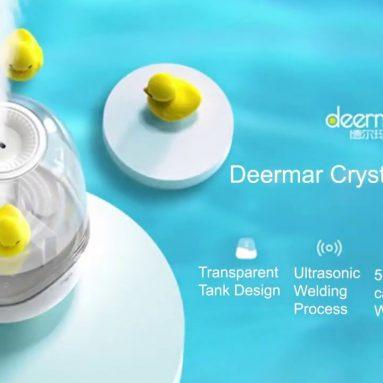 € 32 với phiếu giảm giá cho máy tạo độ ẩm Deerma DEM-F325 Trang chủ Độ ẩm không khí yên tĩnh từ hệ thống sinh thái Xiaomi Phòng ngủ văn phòng Độ ẩm Mini Aromather vật liệu làm ẩm Bể nước trong suốt từ BANGGOOD