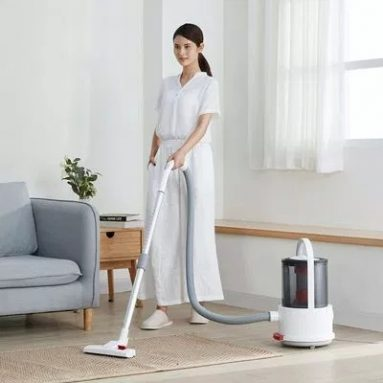 €76 with coupon for Deerma TJ200 Dry and Wet Multi-Functional Vacuum Cleaner EU CZ warehouse from BANGGOOD