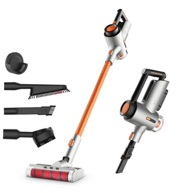 $149 with coupon for Deerma VC50 Household Upright Vacuum Cleaner Handheld Cordless Vacuum Cleaner for Home and Car, 15000Pa Powerful Suction, 250W Brushless DC Motor from BANGGOOD