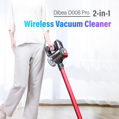 €157 with coupon for Dibea D008Pro Wireless 2-in-1 Vacuum Cleaner from GearBest