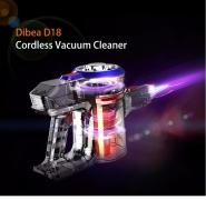 € 80 dengan kupon untuk Dibea D18 Cordless Handheld Vacuum Cleaner Kolektor Debu Hisap Besar dari BANGGOOD