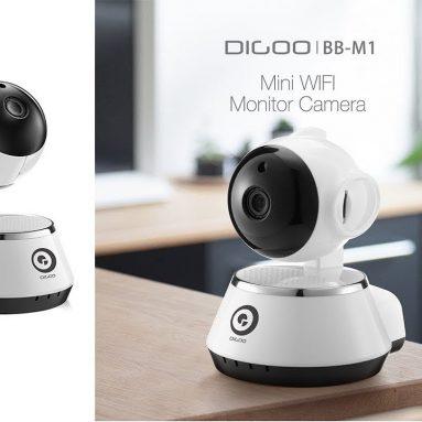 € 11 με κουπόνι για το Digoo BB-M1 ασύρματο WiFi USB μωρό συναγερμού μωρού συναγερμού οικιακής ασφάλειας IP κάμερα HD 720P ήχου Netip από BANGGOOD