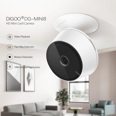 डिगू DG-Mini14 HD 8G 2.4P 720P के लिए कूपन के साथ 1080 वायरलेस वाईफ़ाई इनडोर सुरक्षा आईपी कैमरा नाइट विजन मूविंग डिटेक्शन टू-वे ऑडियो वेब कैमरा बेबी मॉनिटर - XANGUMXP BANGGOOD से