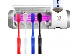 €21 with coupon for Digoo DG-UB01 UV Light Toothbrush Sterilizer Box Ultraviolet Antibacterial Toothbrush Cleaner USB Rechargeable Toothbrush Holder from BANGGOOD
