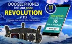 Extra $11 OFF on Doogee New Arrival Y6 Phones + Win 100% Price Refund from DealExtreme