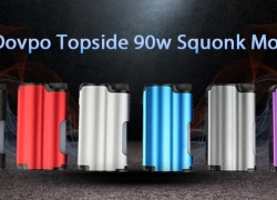 $69 with coupon for Dovpo Topside 90W Squonk Mod – GUNMETAL from GearBest
