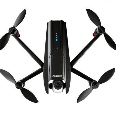 130 € med kupong for Dragonfly KK13 GPS WiFi FPV med 4K HD-kamera 2-Axis Gimbal 170 ° Pitch Optisk flyt Børsteløs RC Drone Quadcopter RTF - 4K HD fra BANGGOOD