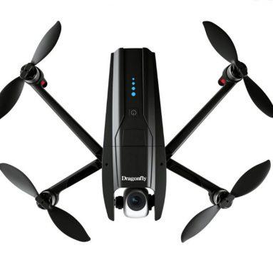 125 € với phiếu giảm giá cho Dragonfly KK13 GPS WiFi FPV với Camera 4K HD 2 trục Gimbal 170 ° Luồng quang không chổi than RC Drone Drone RTF - 4K HD từ BANGGOOD
