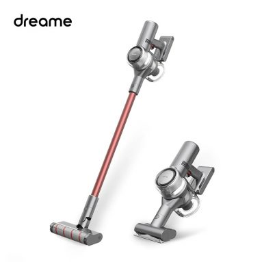 €227 with coupon for Dreame V11 Cordless Stick Handheld Vacuum Cleaner 25000Pa Powerful Suction 150AW OLED Display Lightweight for Home Hard Floor Carpet Car Pet from EU CZ warehouse BANGGOOD