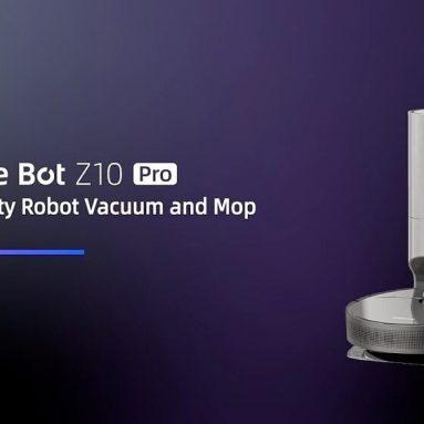 € 442 com cupom para aspirador de pó Dreame Bot Z10 Pro Robot para Home LDS e Line Laser Obstacle Avoidance, 4000Pa Suction, 4000ml Poeira Grande, 150mins Auto Charge, Trabalho com Amazon Alexa do armazém CZ da UE BANGGOOD
