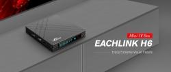 $ 55 s kuponem pro televizní přijímač EACHLINK H6 Mini - BLACK EU PLUG od GearBest