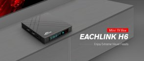 $35 with coupon for EACHLINK H6 Mini TV Box – BLACK EU PLUG from GearBest