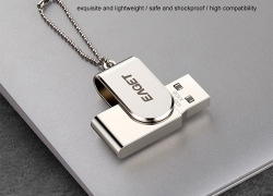$6 with coupon for EAGET S30 USB3.0 Interface All Metal U Disk – Silver 64G from GEARBEST