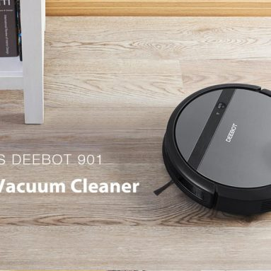 € 191 مع قسيمة لـ ECOVACS DEEBOT 901 Robot Vacuum Cleaner 1000Pa Big Suction 3000mAh with APP Control EU CZ CZ WAREHOUSE from BANGGOOD