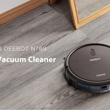 €140 with coupon for ECOVACS DEEBOT N79S Robot Vacuum Cleaner Auto & Manual Power Adjustment, 1000Pa Suction 2600mAh with APP Control from BANGGOOD