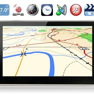 8% OFF 4G Windows CE 6.0 GPS Navigator, teraz: $ 64.49, freeshipping @ focalprice.com od Focalprice