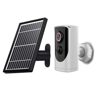 € 50 com cupom para Monitor de Energia Solar EKEN Paso 1080p Câmera Visual IP65 À Prova D 'Água Externa Wifi Câmera de Alarme de Segurança Sem Fio de BANGGOOD