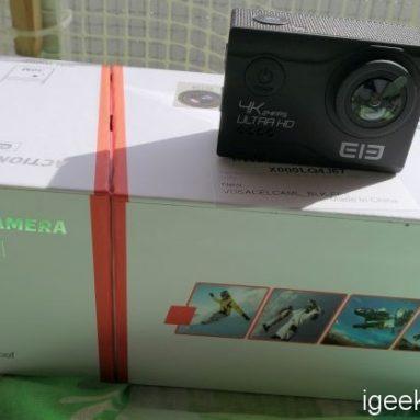फोटो और 4 वीडियो प्रस्तुति के साथ ELEPHONE EleCam एक्सप्लोरर एलिट 3K एक्शन कैमरा की समीक्षा!