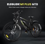 € 749 con cupón para bicicleta eléctrica ELEGLIDE 27,5 Inch Tire M1 PLUS (batería extraíble de 12.5 Ah) del almacén de la UE GEEKMAXI