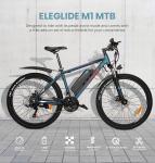 € 599 con cupón para ELEGLIDE 26 pulgadas Neumático M1 Bicicleta eléctrica Bicicleta urbana de montaña (batería extraíble de 7.5Ah) del almacén de la UE GEEKMAXI