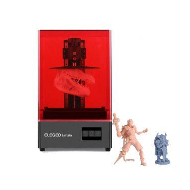 391 € cu cupon pentru ELEGOO® SATURN MSLA 4K 8.9 ″ Imprimantă 3D cu resină LCD MONOCHROME din depozitul EU PL BANGGOOD