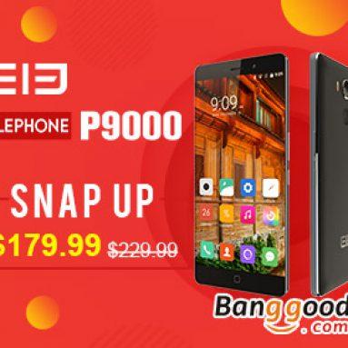 $ 20 OFF para sa Elephone P9000! At $ 30 OFF para sa 5cs lang sa 17: 00 21st July! mula sa BANGGOOD TECHNOLOGY CO., LIMITADO
