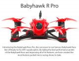 $159 with coupon for EMAX Babyhawk Race Pro 120mm RC Drone F4 Flight Controller 4 in 1 20A ESC – RED BNF ( WITH RECEIVER ) from GearBest