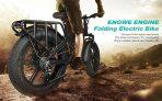 € 1457 con coupon per ENGWE ENGINE 500W bici elettrica pieghevole per pneumatici grassi con batteria LG 12.8 Ah e sospensione idraulica - Magazzino UE Belgio da GEARBEST